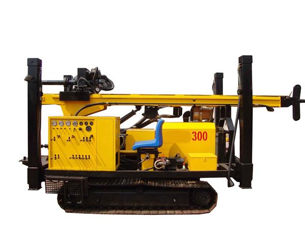 水井钻机一般分回转式钻机机、冲击式钻机和复合式钻机3大类