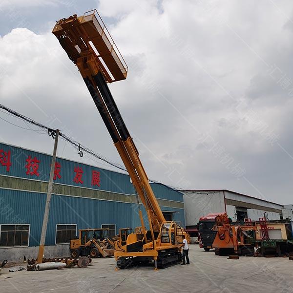 锚固钻机采用跟管技术已达到稳固边坡的目的